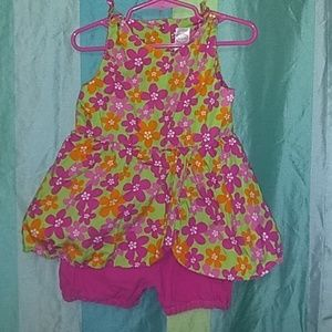 Adorable pre-owned Dress with built-in shorts